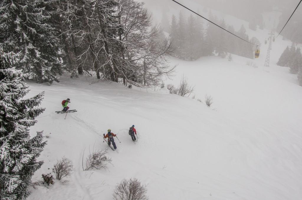 Hochgrat, Allgäu // ALPINA Freeride Camp 2015 powered by MAMMUT Alpine School